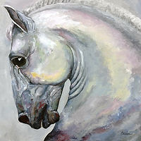 Acrylic painting Marengo by Cathy Crain