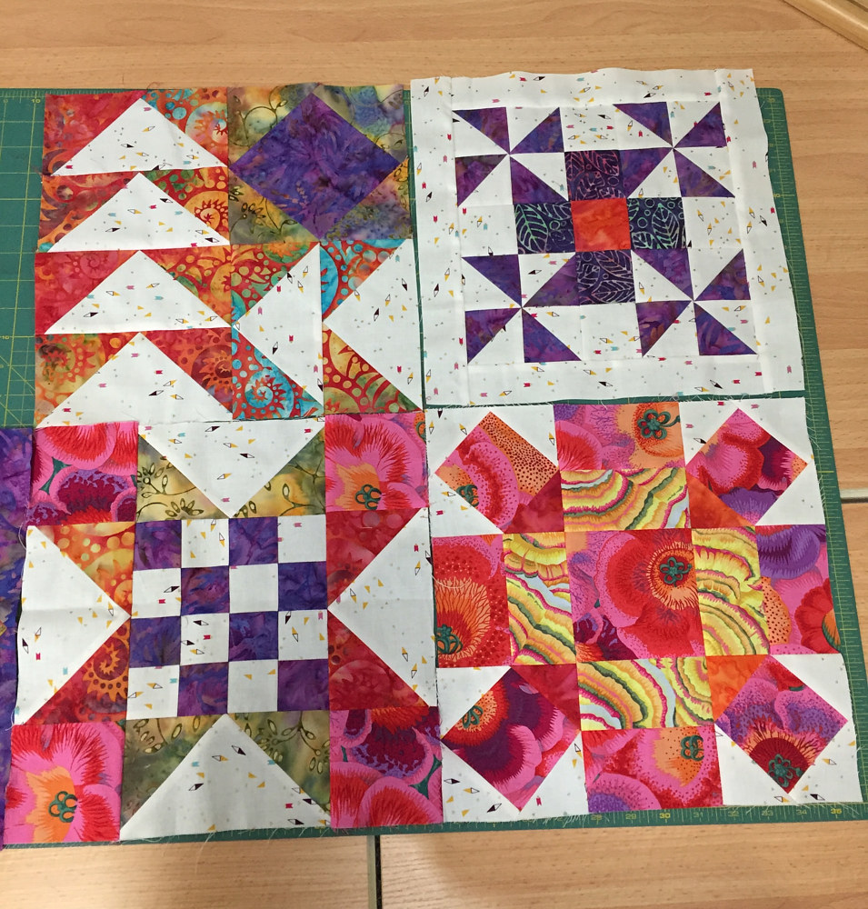 Accuquilt Block of the Month by Maday Delgado