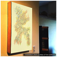 "Photography Collector Image - Single-Line Drawing ""Recognition"" by John Hovig"