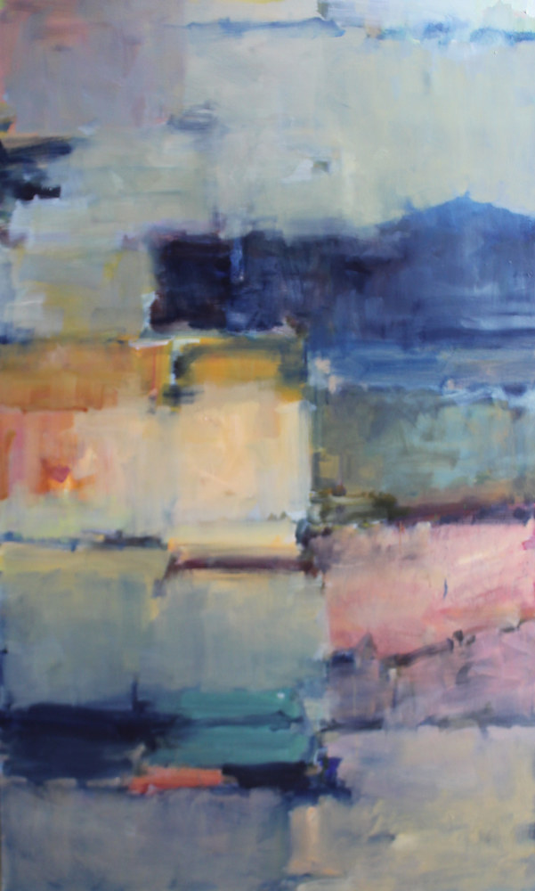 "Twilight ll , oil on canvas, 36"" x 60"" by Susan Horn"