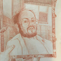 Drawing Reflection of Self! by Joel Abramson