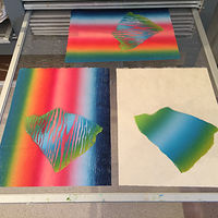 Print First and Second Run  by Cathie Crawford
