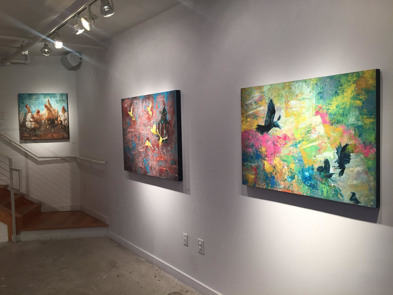 Ascend - Rymer Gallery - One Man Show 2017 by Adam Thomas