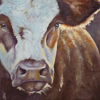 Cow#3_24x18 by Adam Thomas