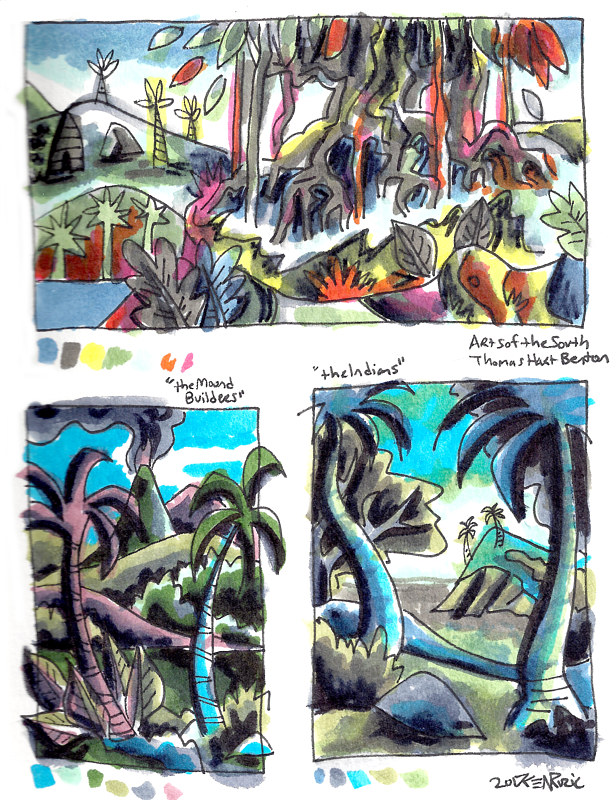 9-15/9-25-16 Watercolor Sketchbook Pg 4 by Kenneth M Ruzic