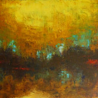 Amber Glow_40x30  by Adam Thomas