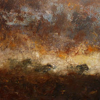 Only The Horses_36x36 by Adam Thomas