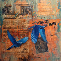 Never Say Never_18x18 by Adam Thomas