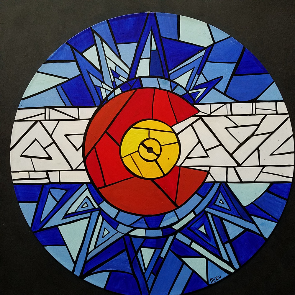 Colorado Mosaic  by Isaac Carpenter