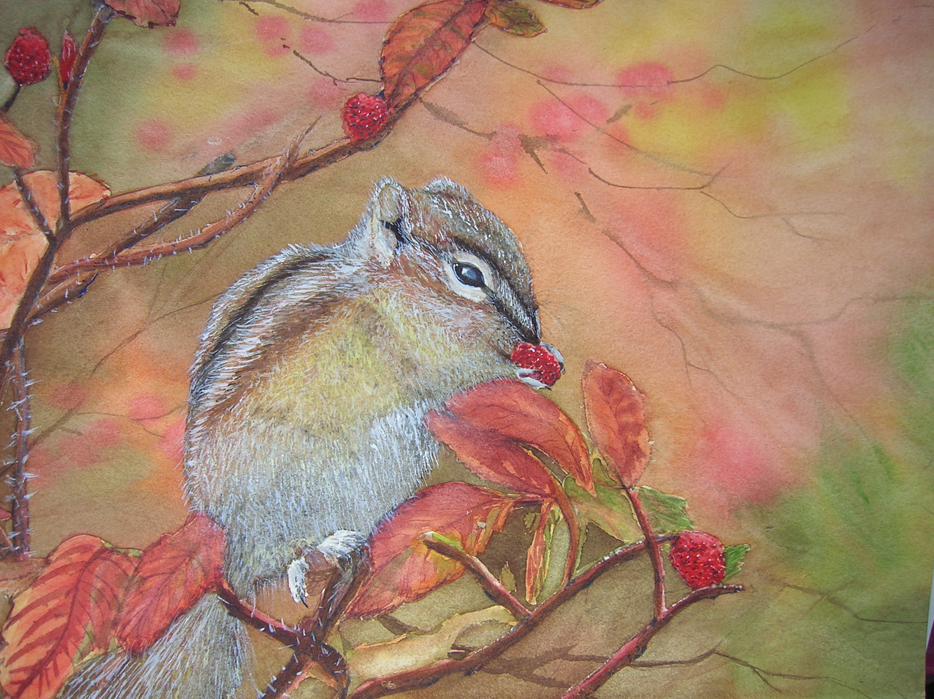 Watercolor A Tasty Treat by Vicki Allesia