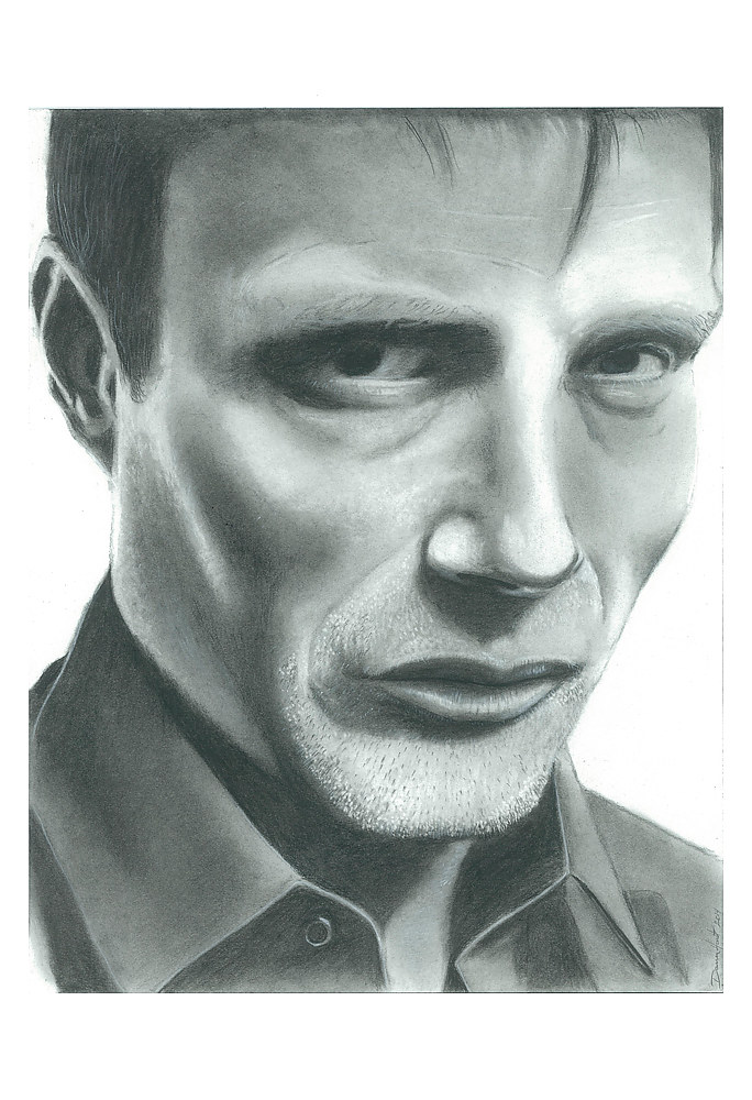 Drawing Hannibal by Darren Hurst