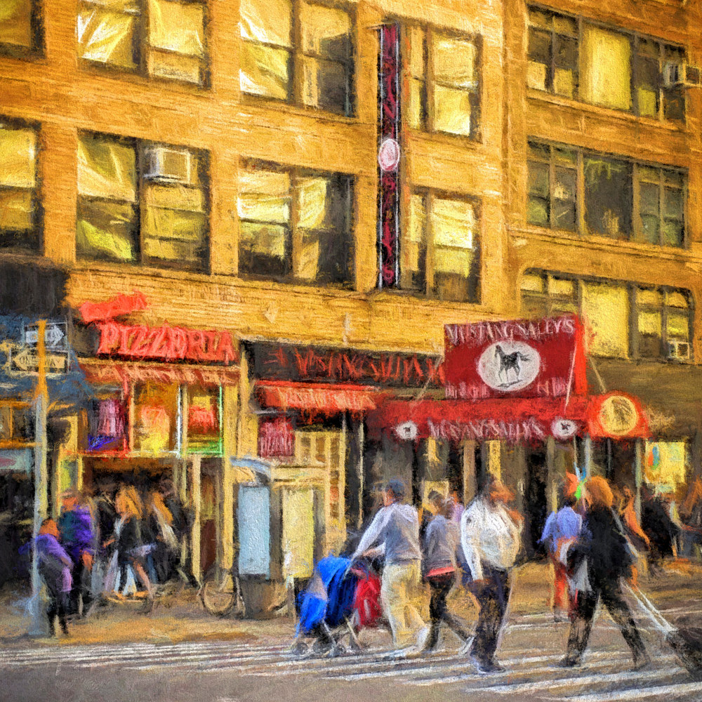 Print Mustang Sally - New York City Impression  by Edward Bock
