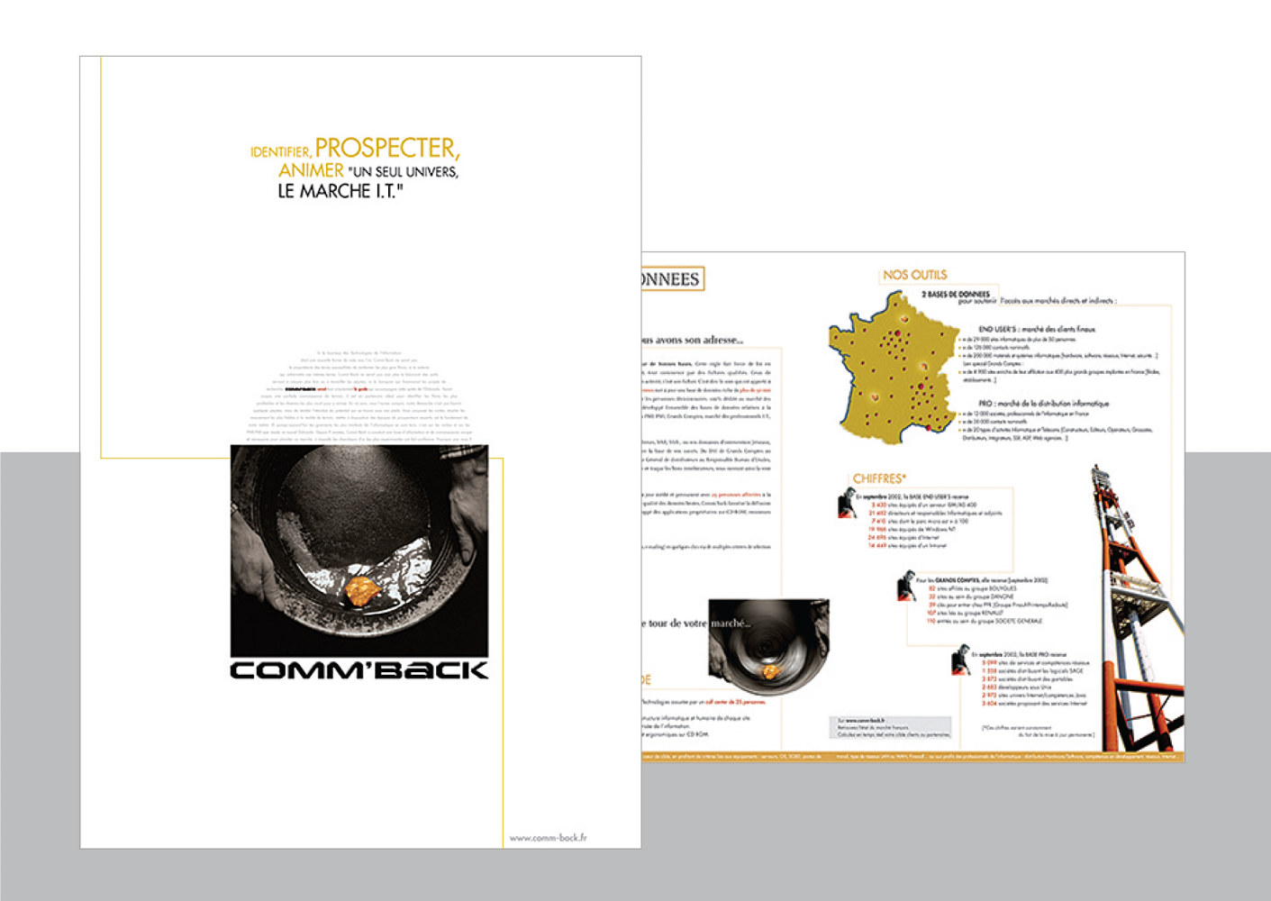 Comm-back | Technology | Brochure by Nathalie Gribinski