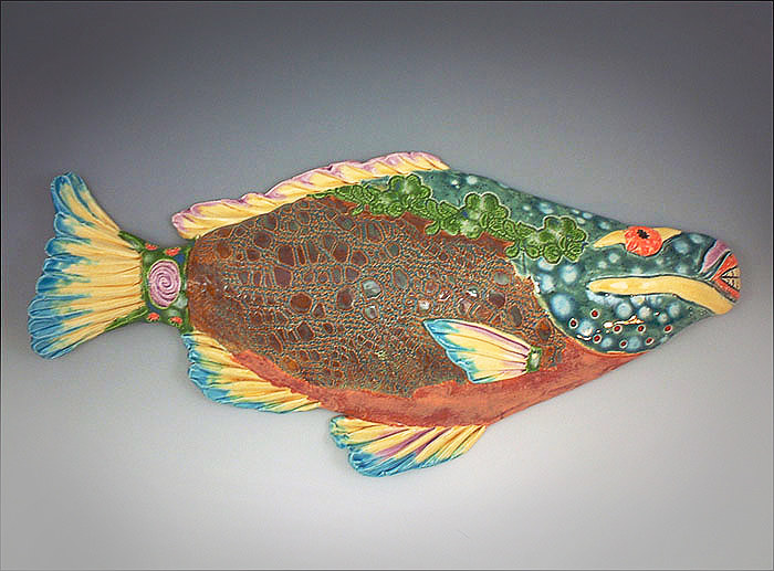 Parrot Fish by Cathy Crain