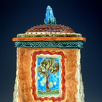 Tall Tree Box  by Cathy Crain