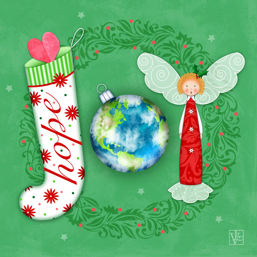 Joy to the World by Valerie Lesiak