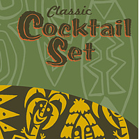 """Classic Cocktail Set"" Box art by Kenneth M Ruzic"