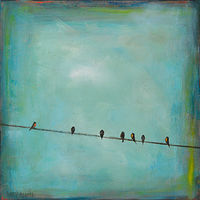 Seven On the Line by Sally Adams