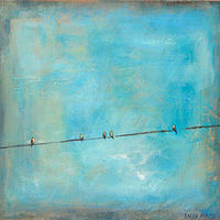 Line of Five by Sally Adams