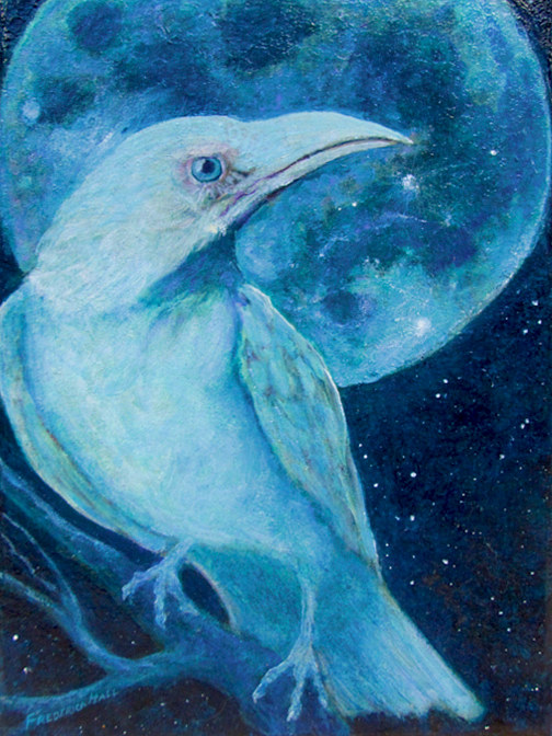 inspired by the moon she knew what to do by Frederica  Hall