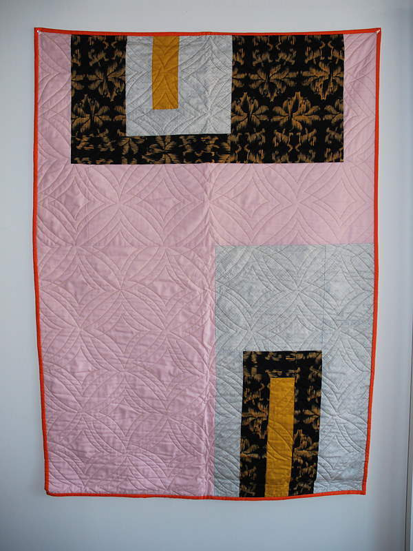 diamondcake quilt1 by Stephanie Cormier