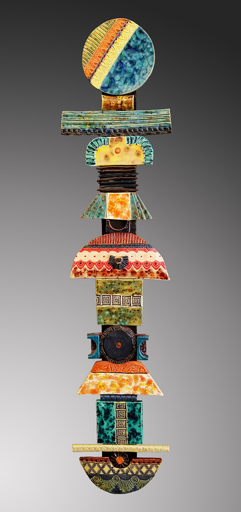 Large Totem  by Cathy Crain