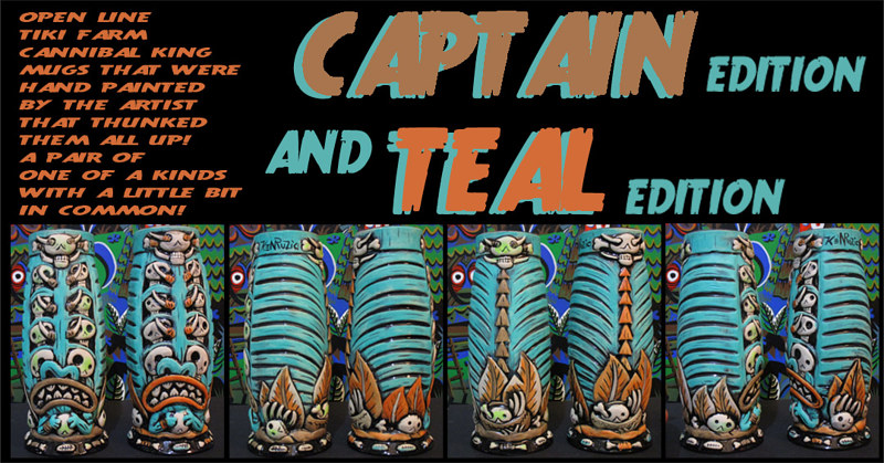 Captain and Teal editions by Kenneth M Ruzic