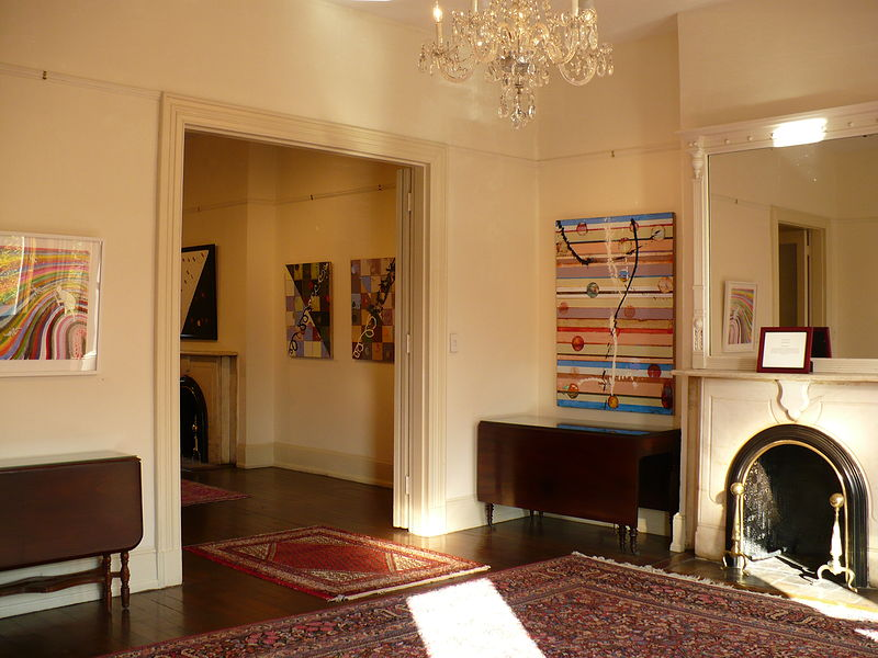 McFeely Galleries, The Arts Club of Washington, Historic 19th residence of James Madison, Washington DC by Judy Southerland