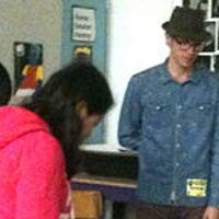 """Stop Bullying Me"" workshop at Washington Middle School by Cody Blomberg"