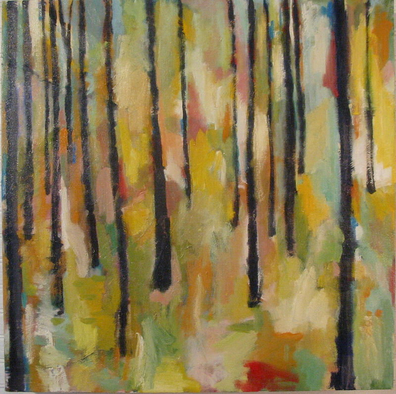 Oil painting Forest No.1 by Cody Blomberg