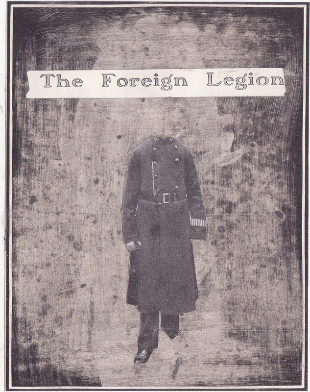 Drawing The Foreign Legion by Guillaume Vallée