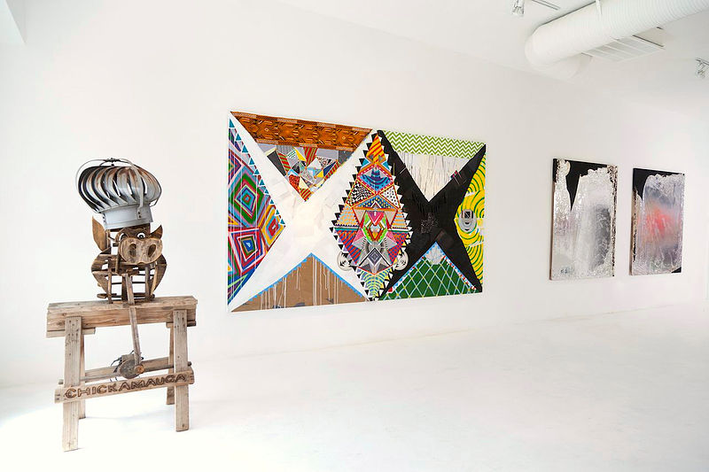Installation view, The 10th Circle, 2013  by Brian Porray