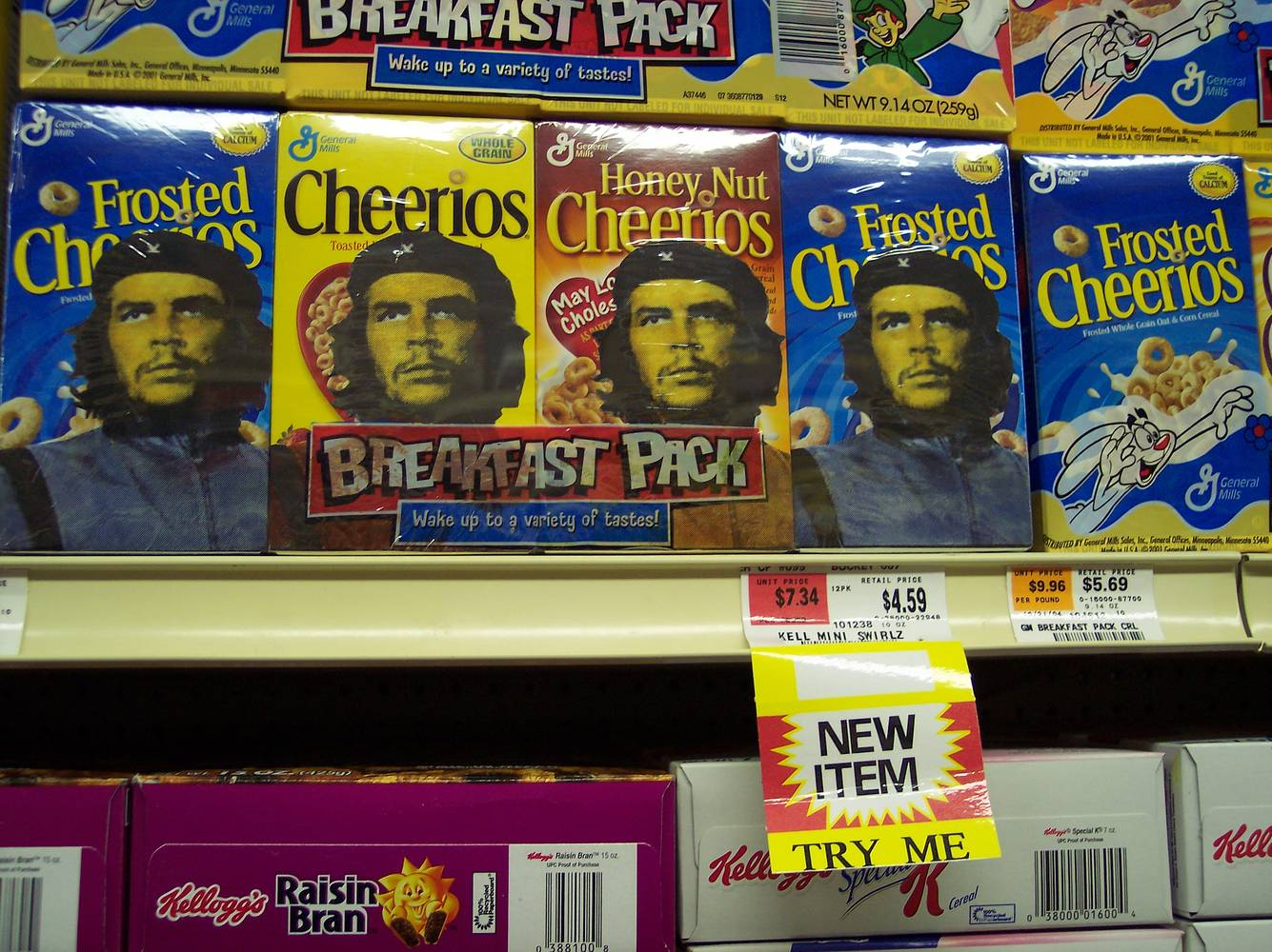 Che-erios Breakfast Pack by El Celso