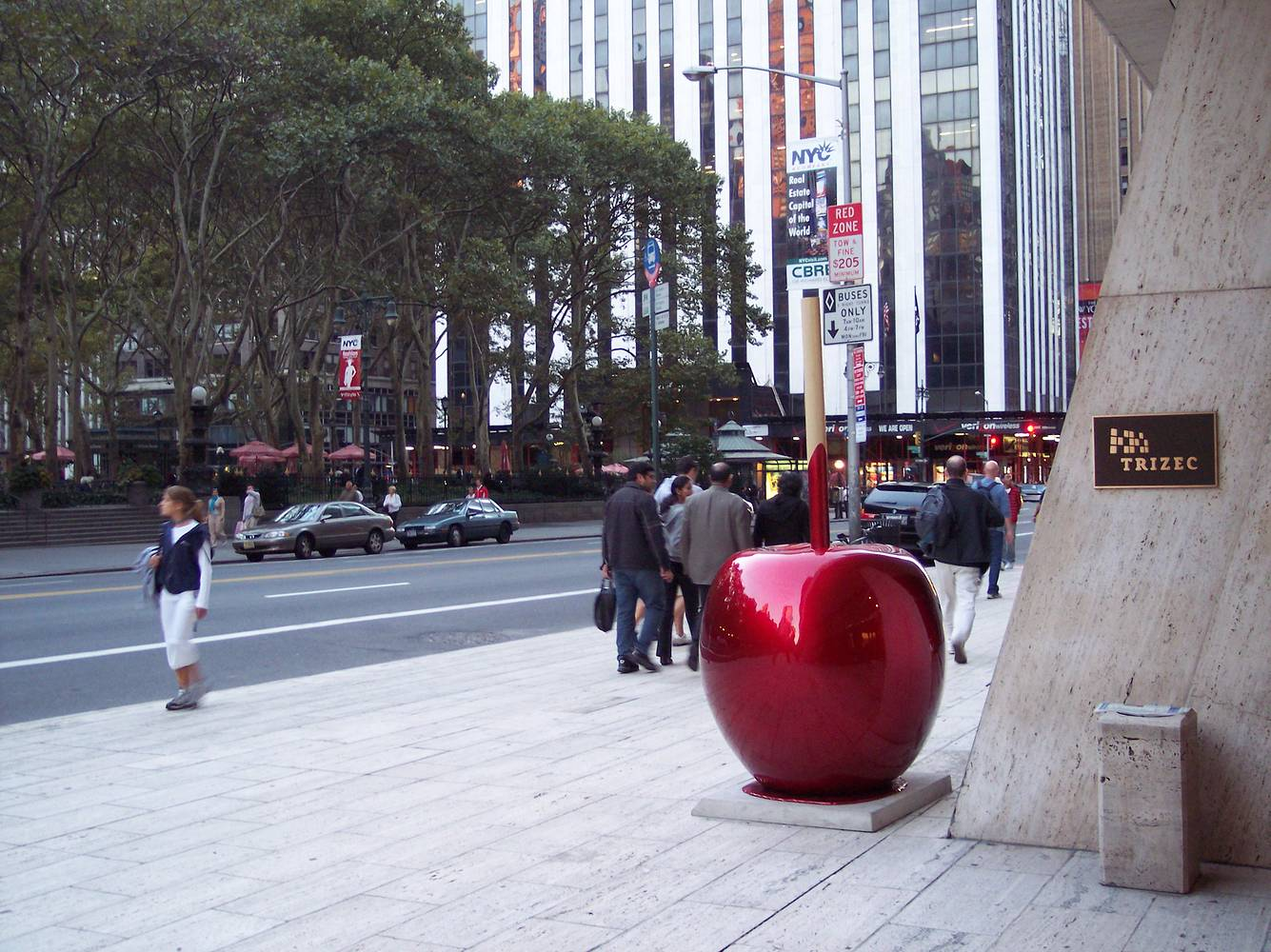 Painting The Really Big Candy Apple by El Celso