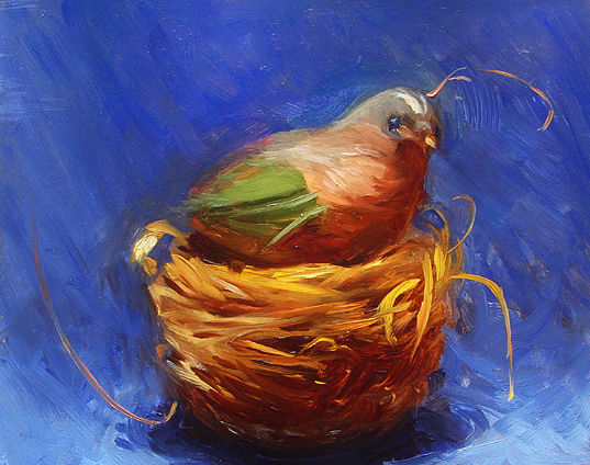 Painted Bunting by Noah Verrier