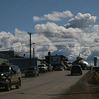 mainstreet Inuvik by Belinda Harrow