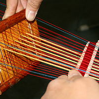 weaving by Belinda Harrow