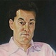 Oil painting Mr. Steve Paikin by Judith  Elsasser