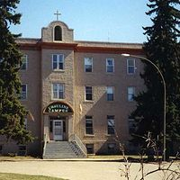 Ursuline Campus - University of Saskatchewan  by Belinda Harrow