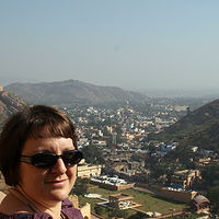 view from the Amber Palace by Belinda Harrow