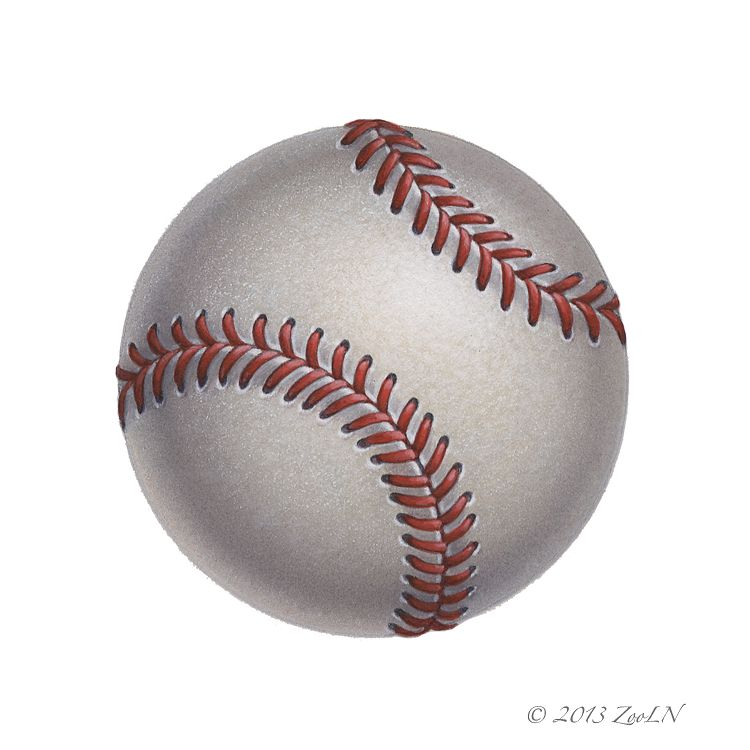 Print Baseball by Sue Ellen Brown