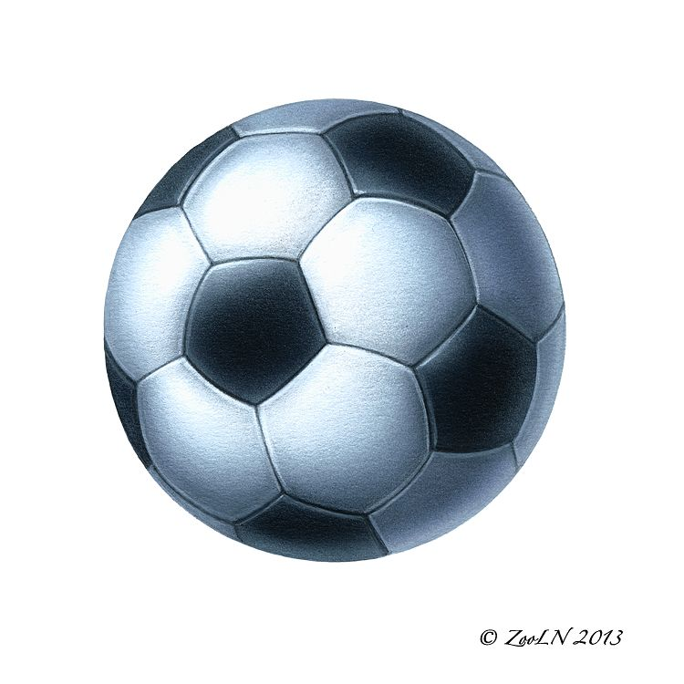 Print Soccer by Sue Ellen Brown