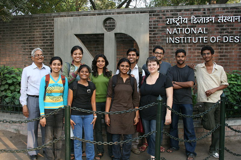 Guest Lecturer at India's National Institute of Design by Belinda Harrow
