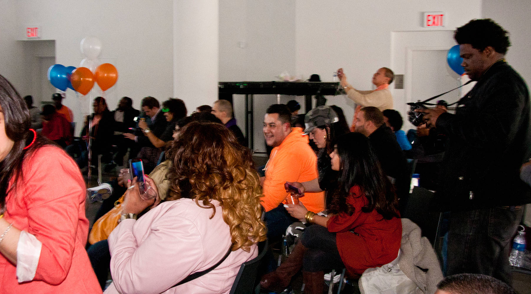 Bx Artist Day Audience having fun by Leenda Bonilla