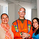 Artists Maria Aponte, Bobby Gonzalez and Peggy Robles Alvarado by Leenda Bonilla