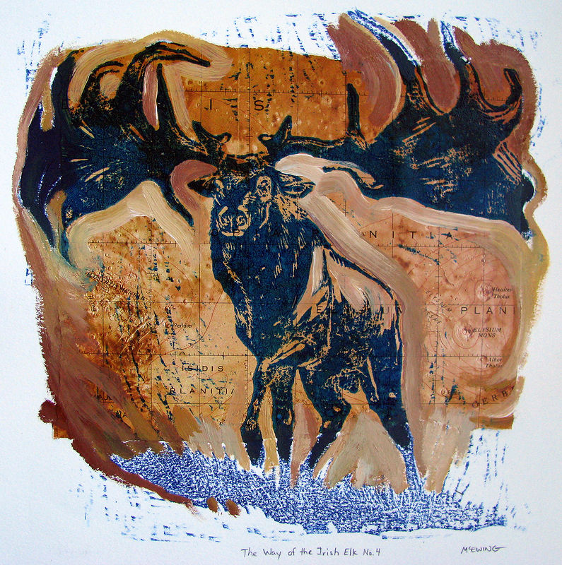 Print The Way of the Irish Elk No. 4 by Michael McEwing