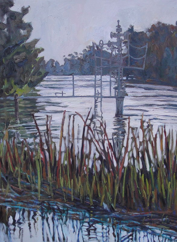Oil painting Bayou Royale by Edward Miller