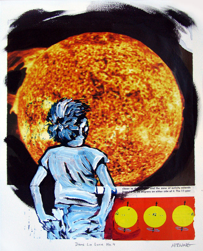 Print Dans La Lune No. 4 by Michael McEwing