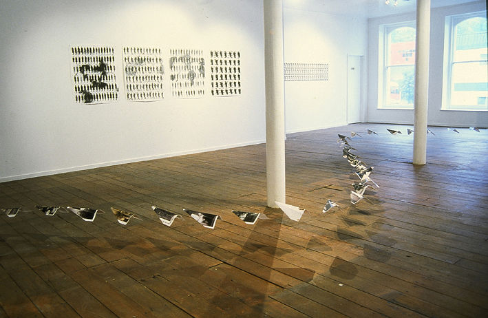 Installation view by Belinda Harrow