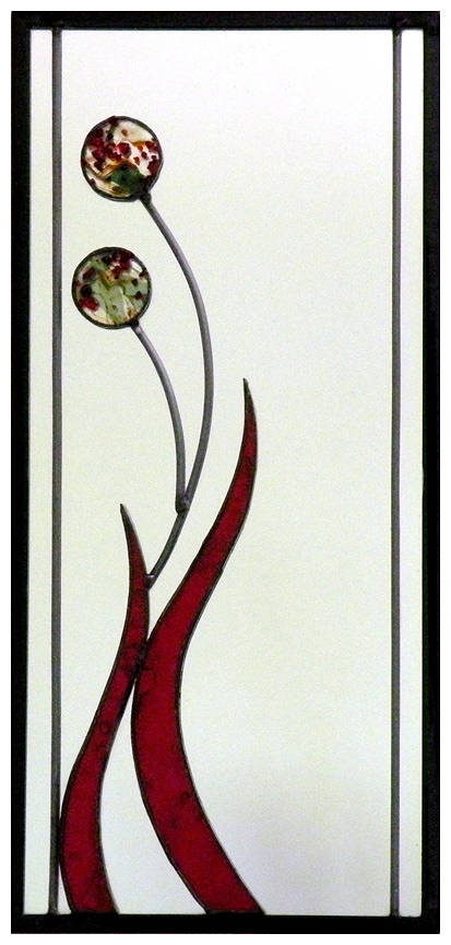 Red Blossoms by Catherine Hart